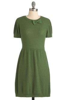 ModCloth Herb It On The Radio Dress - Lyst