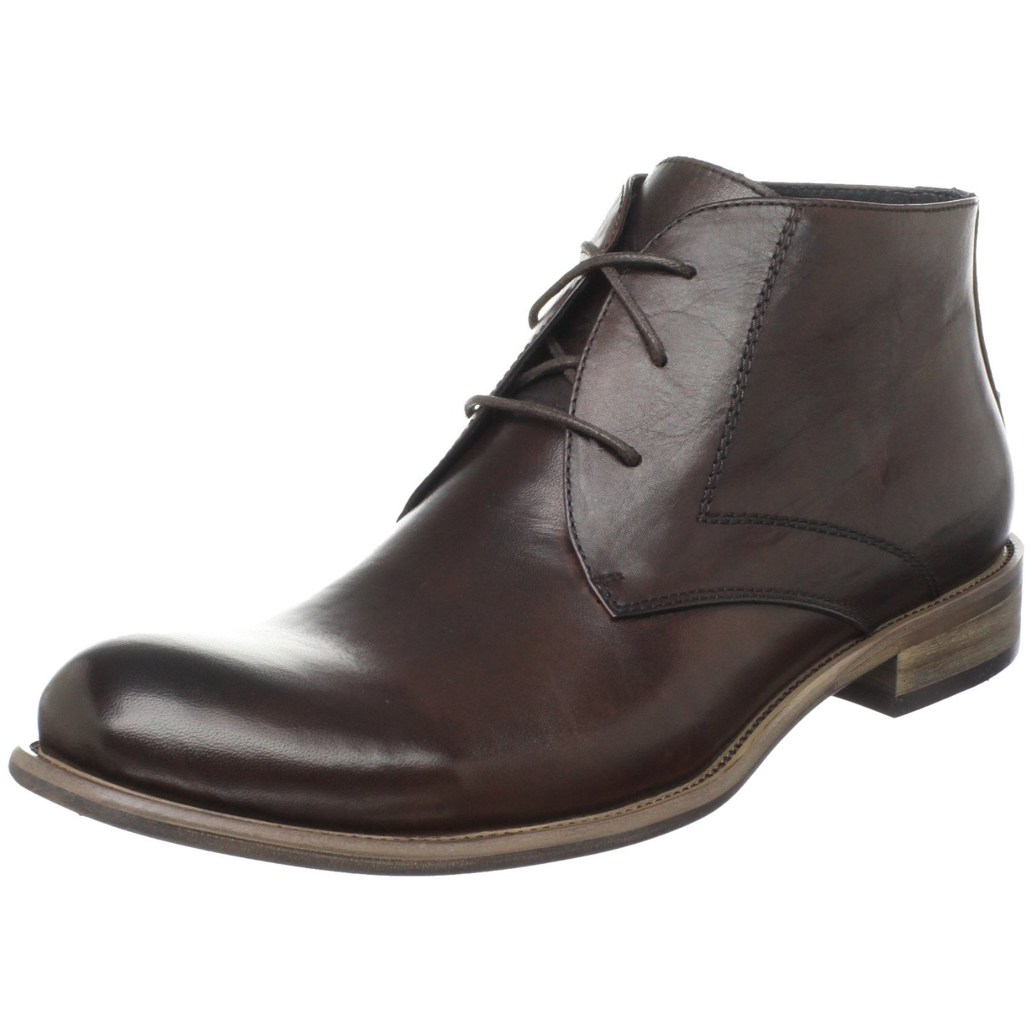steve madden mens bristole dress boot in brown for