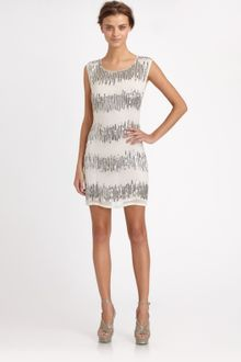Alice + Olivia Vista Beaded Tunic Dress - Lyst