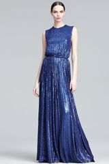 Eastland Mini-sequined Gown - Lyst