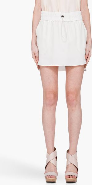 Elizabeth And James Silk Olivia Skirt - Lyst
