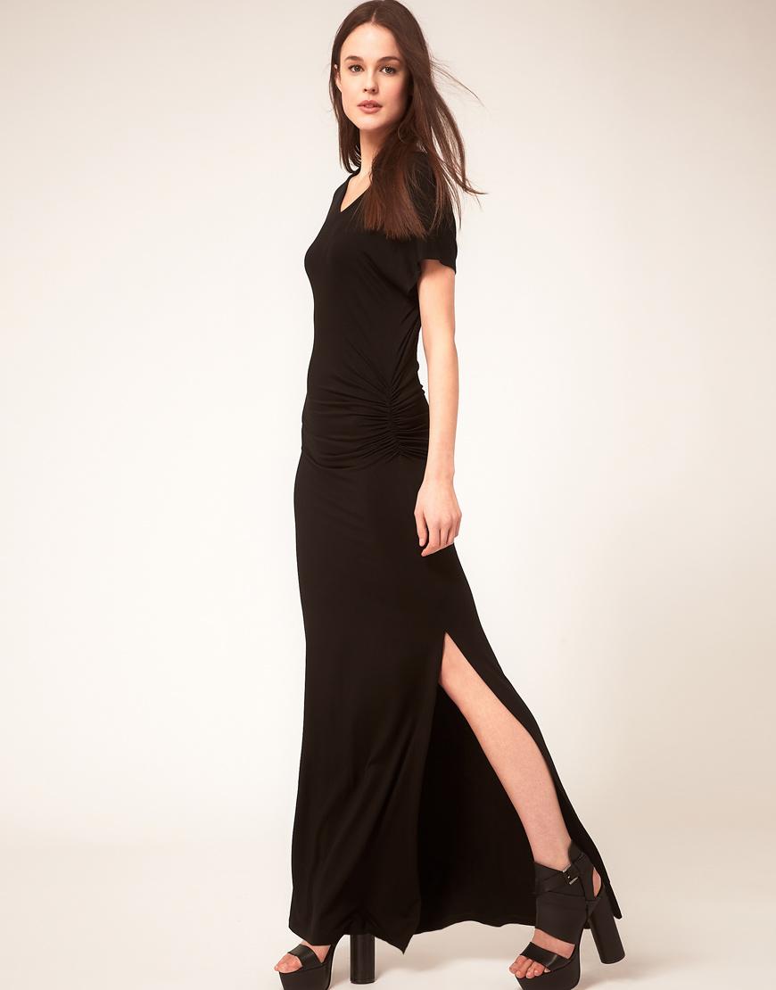 Lna berkley v neck maxi dress
