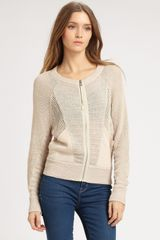 Marc By Marc Jacobs Michelle Sweater in Beige (oatmeal) - Lyst