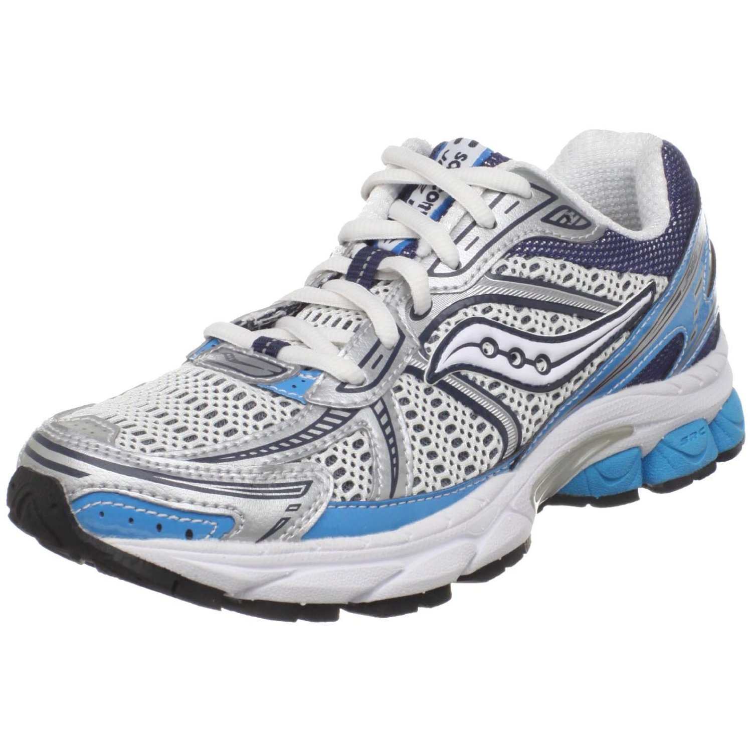 saucony womens progrid jazz 14 running shoe in white