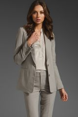 Vince Single Breasted Blazer  - Lyst