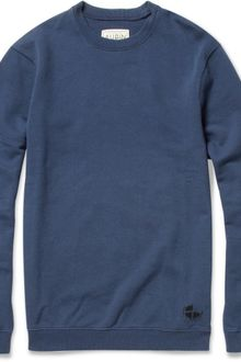 Aubin & Wills Loopback-cotton Sweatshirt - Lyst