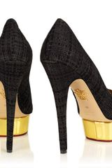 Charlotte Olympia Dolly in Black - Lyst