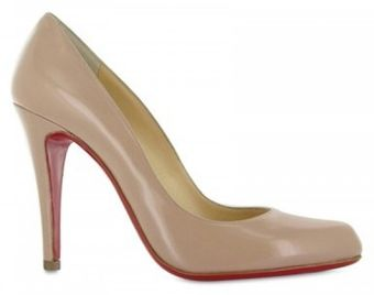 Christian Louboutin 100mm Decollete Leather Pumps - Lyst