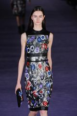 Christopher Kane Fall 2012 Floral Embroidered Pencil Dress in Multicolor - Lyst