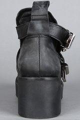 Jeffrey Campbell The Coltrane Boot in Black (distressed black) - Lyst