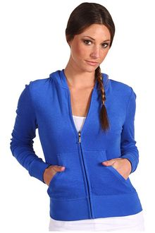 Juicy Couture Micro Terry Long Sleeve Original Zip Hoodie - Lyst