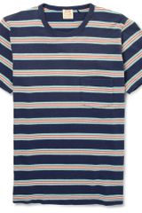 Levi's Vintage Clothing Striped Cotton T-shirt - Lyst