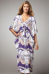 Mara Hoffman Long Poncho Cover Up - Lyst