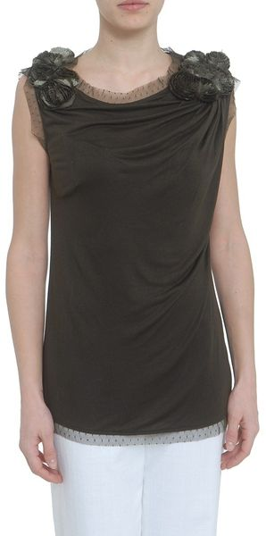Valentino Rosier Tshirt Couture in Black - Lyst