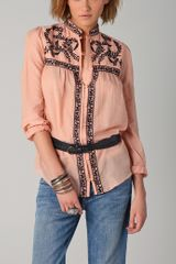 Alice By Temperley Rana Embroidered Blouse - Lyst