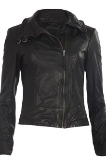 AllSaints Belvedere Leather Jacket - Lyst