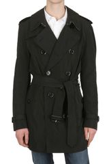 Burberry Brit Nylon Pack Away Trench Coat - Lyst
