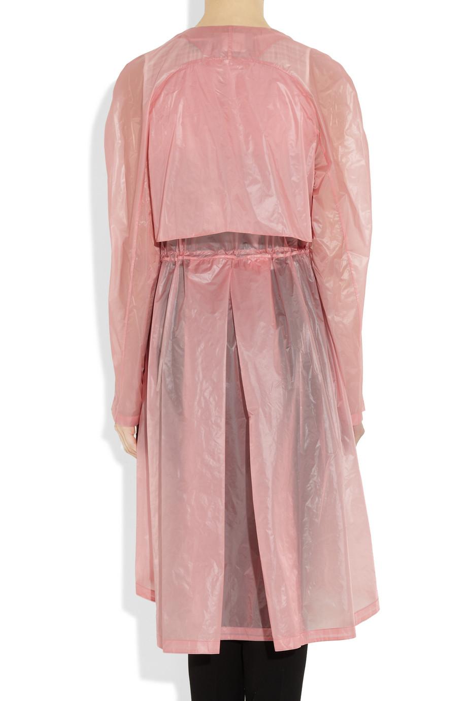 Lyst Jason Wu Coated Nylon Jacket In Pink