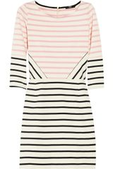 Markus Lupfer Charlotte Striped Cotton Dress - Lyst