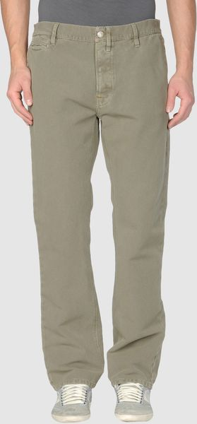 Nudie Jeans Casual Trouser in Green for Men - Lyst