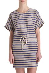 Sea Striped Dress - Lyst