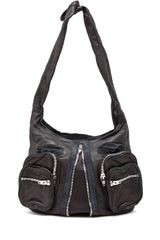 Alexander Wang Donna Hobo in Black - Lyst