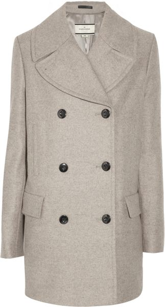 By Malene Birger Massia Wool-blend Coat in Gray - Lyst