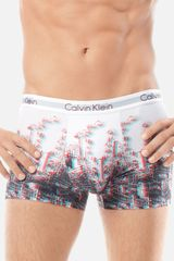 Calvin Klein 3d Trunks - Lyst