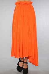 Cheap Monday The Kari Skirt in Orange - Lyst