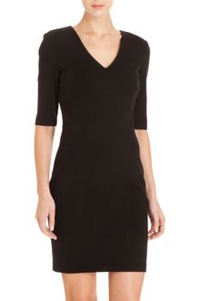 Co-op Barneys New York V-neck Dress - Lyst