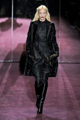 Gucci Fall 2012 Velvet Floral Printed Coat  - Lyst