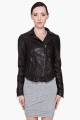 Mackage Black Solange Leather Jacket - Lyst