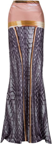 Mary Katrantzou Pen Pot Gown Skirt - Lyst