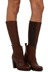 Mm6 X Opening Ceremony Bootie in Brown - Lyst