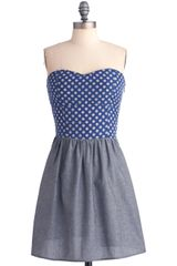 ModCloth Feeling Finals Dress - Lyst