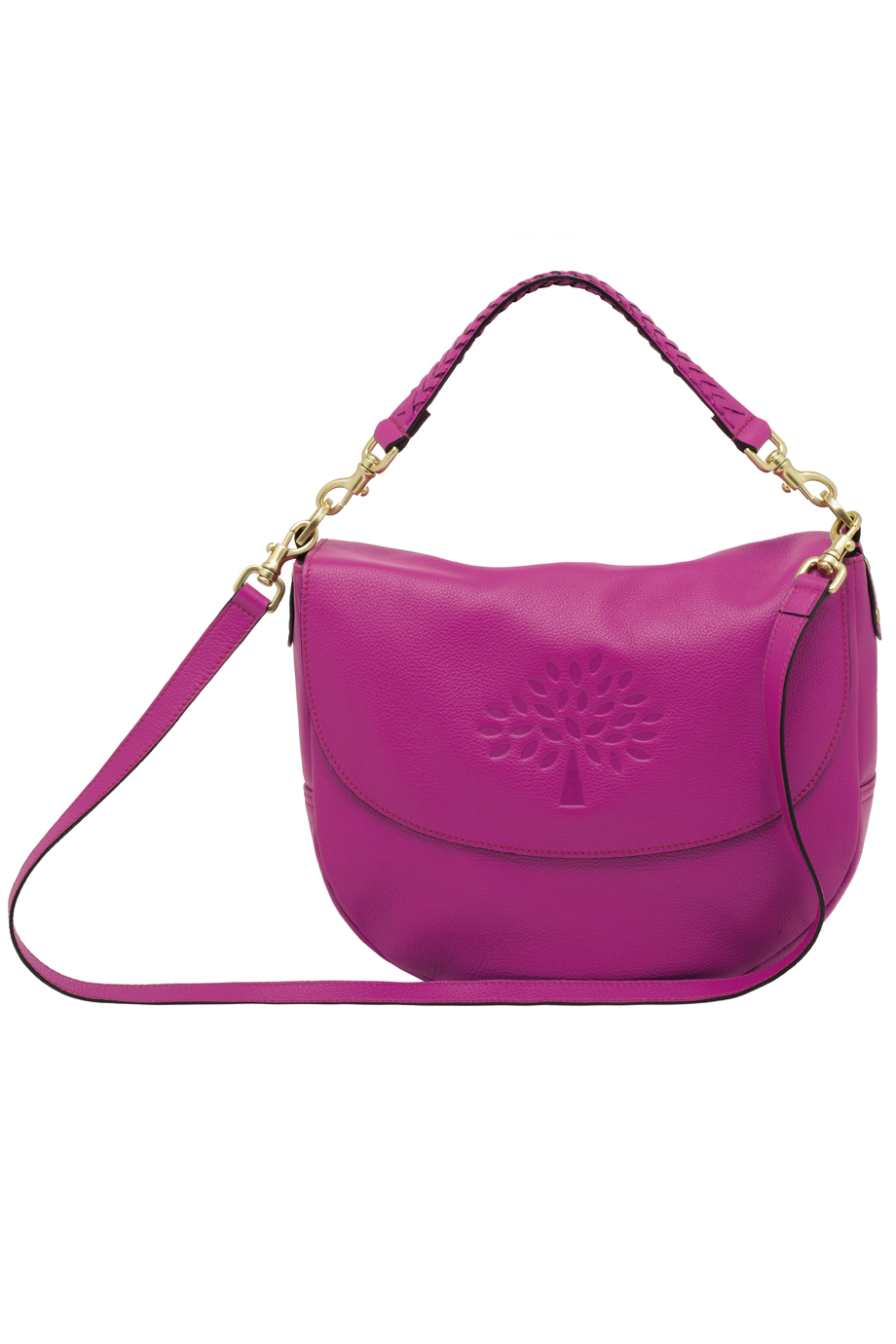 aea08f175ca4 denmark mulberry amberley striped satchel bag lyst 4f5b0 96ddf  canada lyst  mulberry effie satchel in purple 0a6a0 6909d