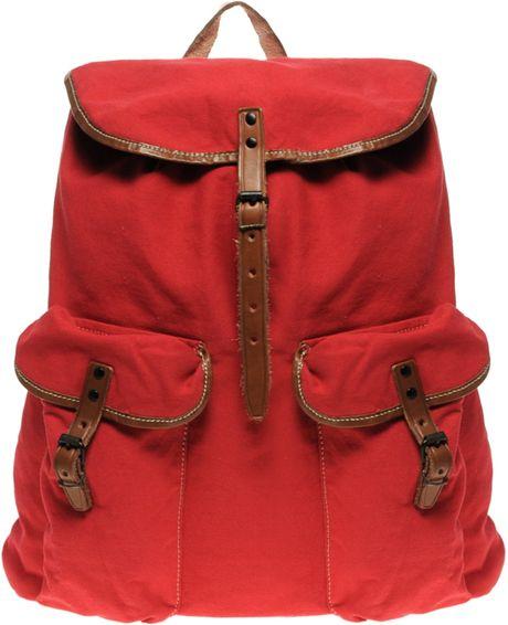 Ralph Lauren Polo Explorer Backpack in Red for Men
