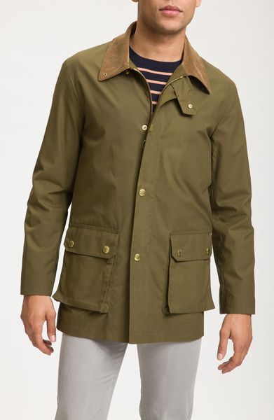 A.p.c. Barn Jacket in Green for Men (khaki military) - Lyst