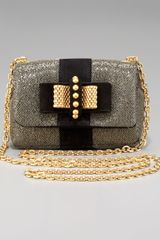 Christian Louboutin Sweet Charity Glittered Shoulder Bag - Lyst