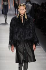 Fendi Fall 2012 Black Fur Coat - Lyst