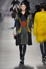 Fendi Fall 2012 Blue Wool Sweater - Lyst