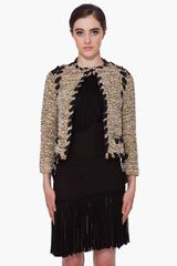 Lanvin Multicolor Tweed Jacket - Lyst