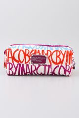 Marc By Marc Jacobs Pretty Nylon Narrow Cosmetic Case - Lyst