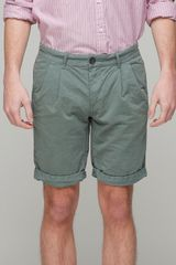 Vanishing Elephant Long Cuffed Short - Lyst