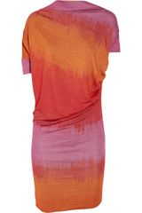 Vivienne Westwood Anglomania New Drape Stretch-Jersey Dress - Lyst