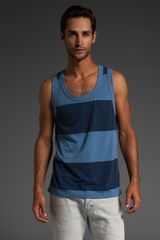 Warriors Of Radness Big Ups Stripe Tank - Lyst
