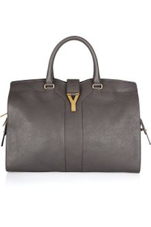 Yves Saint Laurent Large Cabas Chyc Leather Tote - Lyst
