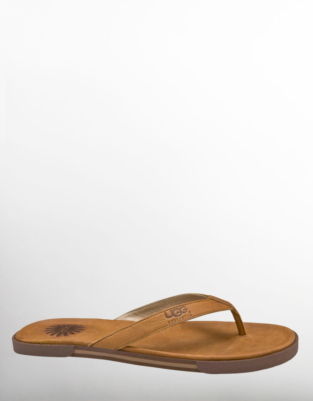 7603dff7848a Lyst - Ugg Bennison Leather Thong Sandals in Brown for Men