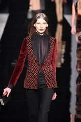 Etro Embroidered Cotton Velvet Jacket - Lyst