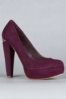 House Of Harlow The Callan Shoe in Purple Suede - Lyst